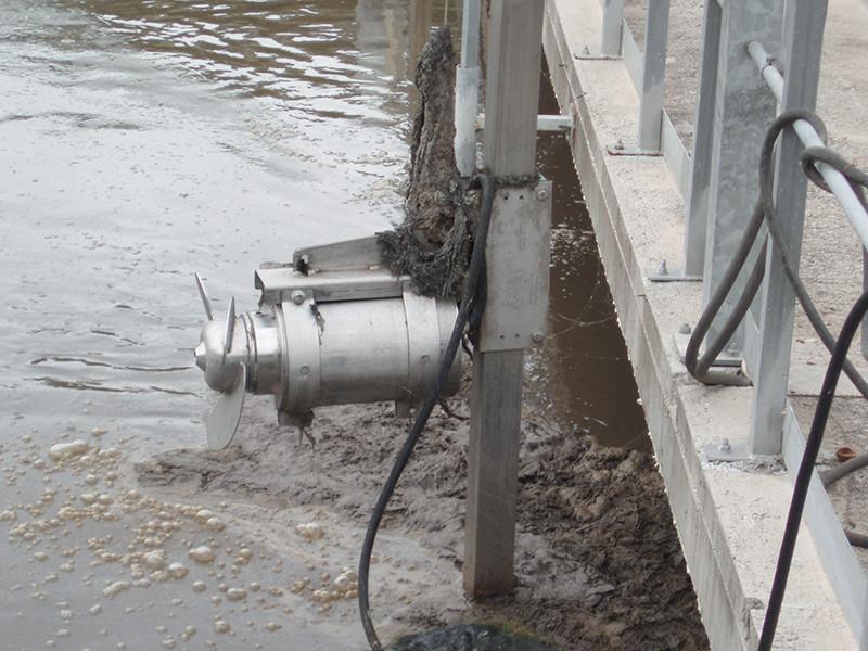 Ứng dụng máy khuấy chìm trong xử lý nước thải