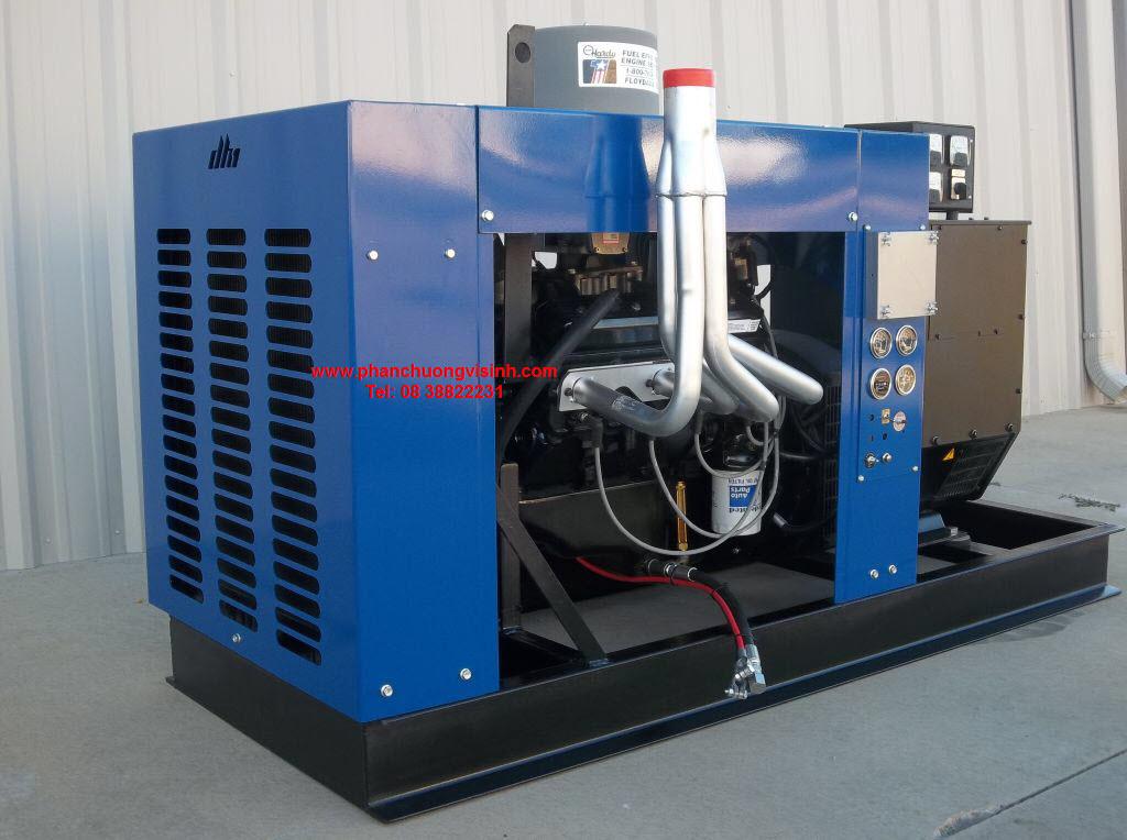 Quy trình xử lý khí Biogas để sử dụng là nhiêu liệu chạy máy phát điện Biogas